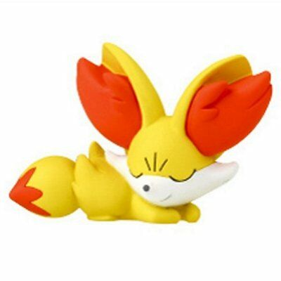 Pokemon Desktop PVC Good Night Friends Figure Sleeping Series ~ Fennekin @81336