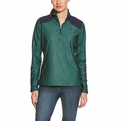 Ariat 1/4 Zip Lateral Top