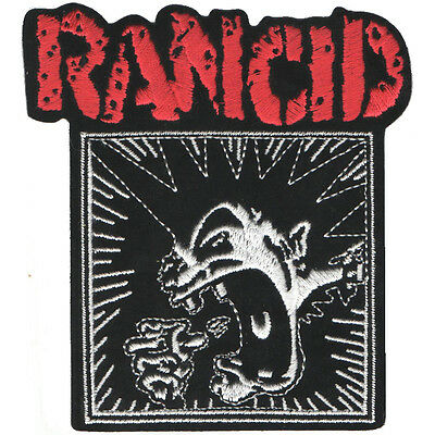 PARCHE bordado en tela RANCID 2, EMBROIDERED PATCH