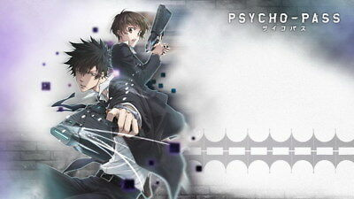 "099 PSYCHO PASS - Kougami Shinya Police Season 2 Fight Anime 42""x24"" Poster"