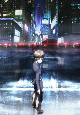 "129 PSYCHO PASS - Kougami Shinya Police Season 2 Fight Anime 24""x34"" Poster"