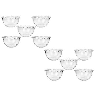 10 Nigella Lawson At My Table Breakfast Clear Glass Bowls Exclusive To Dibor