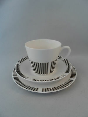 "Royal Osborne ""Caprice"" Cup, Saucer And side Plate."