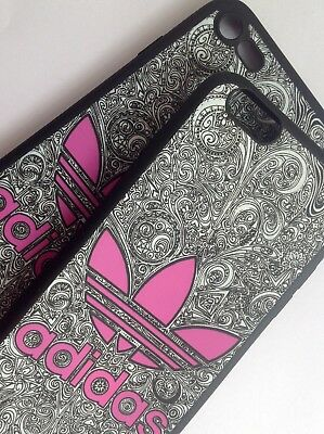 Glow in the Dark Adidas  Logo Phone Case Cover for iPhone 7/8