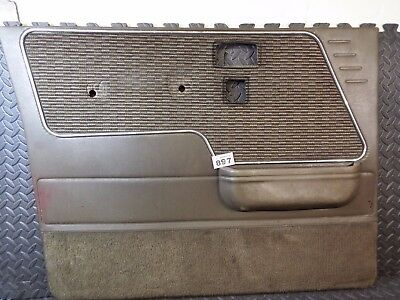 Mitsubishi Shogun Pajero Mk1 Lwb 1982-1991 Front Left Door Card Interior Brown