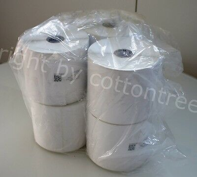 "New Zebra Z-Select 4000T Labels (4""x5"") (570 per roll) (6 rolls) 10009531"