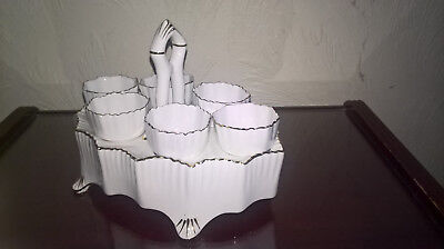 Carlton Ware China Egg cups & Stand