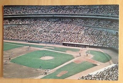 Shea Baseball Stadium Postcard -New York Mets- unused near mint (Nester's/K112)