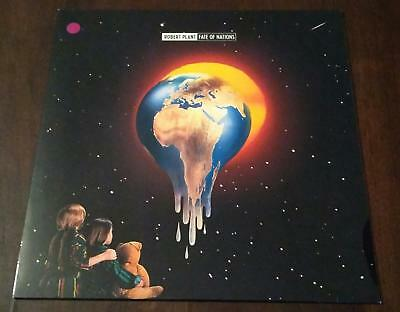 """Robert Plant """"Fate of Nations"""" LP   Europe   - 1993"""