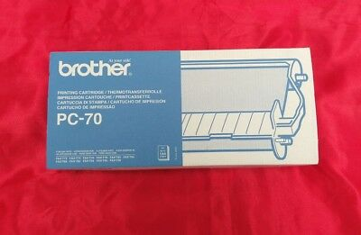 Brother Thermal Transfer Ribbon Cartridge and Refill PC70 PC-70