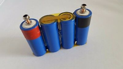 12V LiFePO4 battery pack. 3.2V 3300mAh LiFePO4 cells with 10A continuous 16A Max