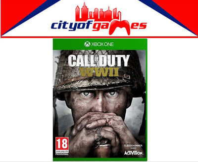 Call of Duty WWII Xbox One Game  New & Sealed Free Express Post In Stock