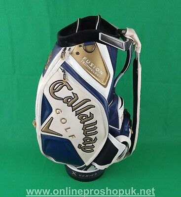 "Callaway Fusion Tour Staff Bag 10.5"" !! FREE Delivery !! PGA Pro Seller"