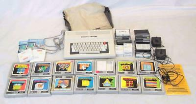 Vintage Radio Shack TRS-80 Colour Computer 2 With 14 Games#13183
