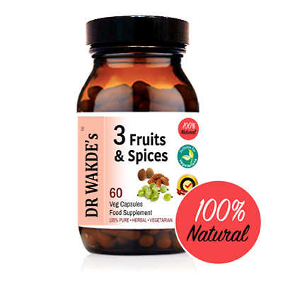 DR WAKDE'S  3 Fruits & Spices Capsules I FREE SHIPPING I 100% Natural Herbal Sup