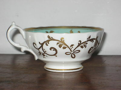 Striking English Regency Tea Cup Internally Decorated