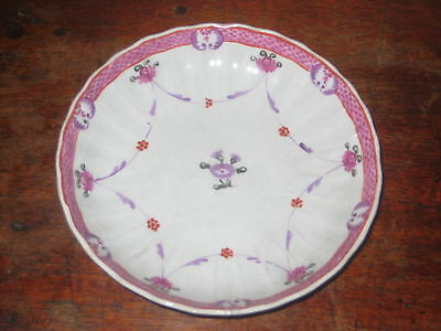 English Late 18Th Early 19Th Century Painted Saucer Bowl