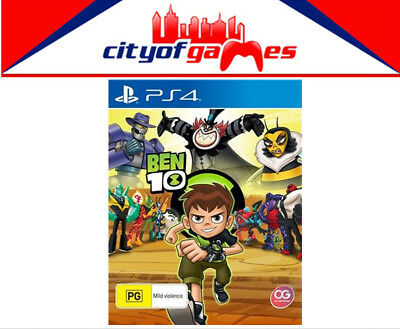 Ben 10 PS4 Game New & Sealed Free Express Post In Stock