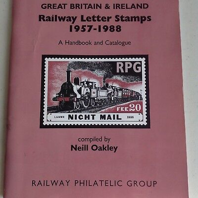 Railway Letter Stamps catalogue 1957-1988. paperback