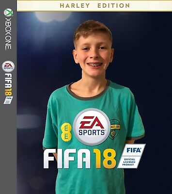 Personalised Custom FIFA 18 XBOX One Cover