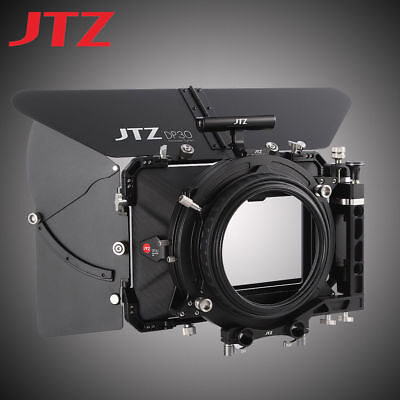 "AU JTZ DP30 Carbon Fiber 4x5.65"" Matte Box 15mm/19mm For Sony RED ARRI Canon"