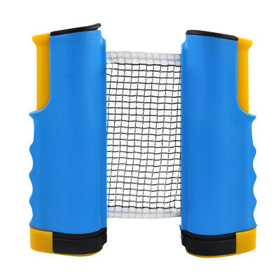 Portable Telescopic Table Tennis Net Rack Replacement Retractable Ping Pong Mesh
