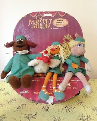 Retro Plush Doll Toys The Muppet Show Veterinarian's Hospita By Sababa Toys 2003