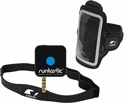 Runtastic Pro Phone App & Wireless Heart Rate Monitor Chest Strap Apple /