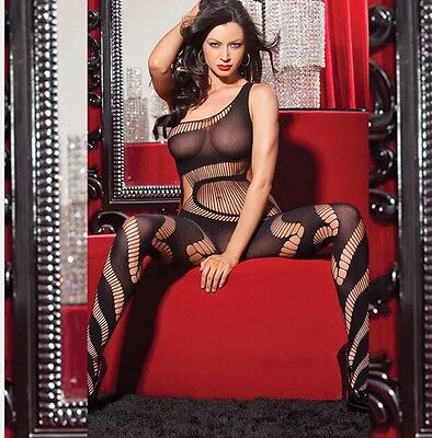 OS A68 Stripperwear Exotic Dancer Pole Stripper Clothes Body Stocking Fishnet