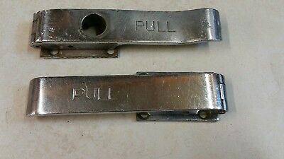 Bus Surplus (Two Used Chrome Pull  Handles )