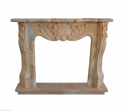 Fireplace Classic Fireplace Marble Rosa Portugal Classic Stone Marble Fireplace