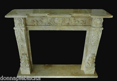 Fireplace Stone Travertine Interior Classic Design Stone Fireplace Style Empire