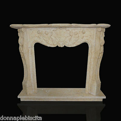 Frame Fireplace fireplace in Marble Travertine Old Design fireplace Marble Frame