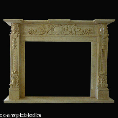 Frame Fireplace Fireplace Travertine Style Empire Classic Fireplace Marble Frame