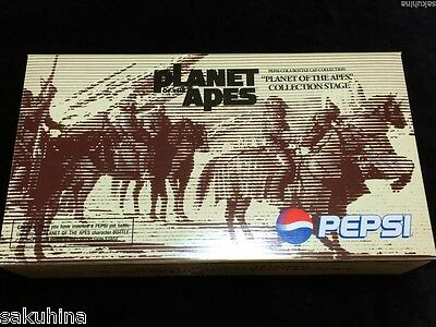 Planet of the Apes Pepsi Cola Bottle Cap Collection Stage Set Not for sale Rare