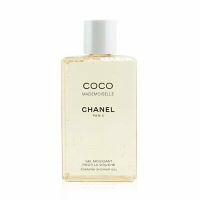 Chanel Coco Mademoiselle Foaming Shower Gel (Made In USA) 200ml Womens Perfume