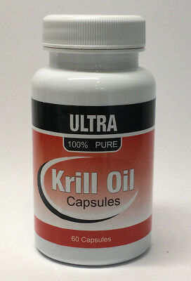 Ultra Krill Oil (Superba) Extract Capsules - Contails Omega 3, 6 & 9