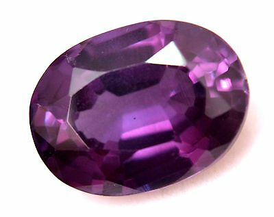 AGSL Certified 16.90 Ct Natural HUGE Purple Color Changing Sapphire Oval Cut Gem