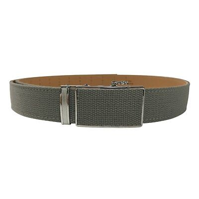 Women's Olive Leather Canvas Golf Belt