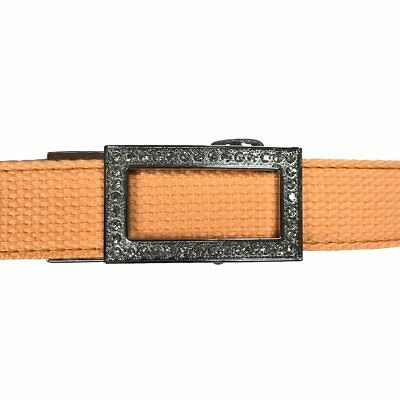 Women's Tang Leather Canvas Golf Belt