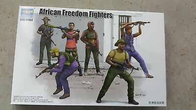 Trumpeter 1/35 African freedom fighters figure set