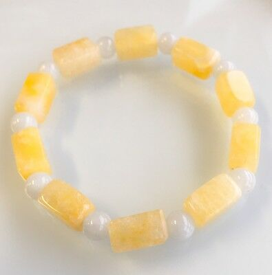 Genuine Yellow Jade bracelet