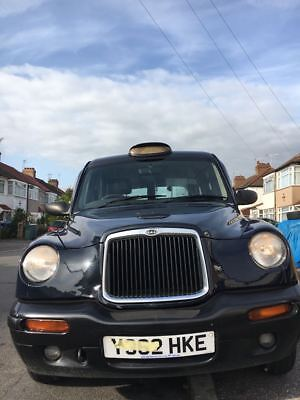 LONDON LTI TX1 BLACK TAXI/CAB Y.REG 2001 MOT without advisory,ONE previous owner