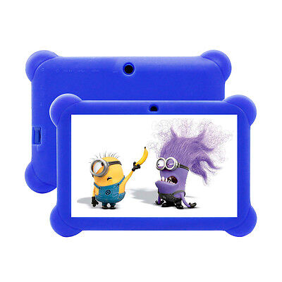 """CHILD ANDROID 4.4 7"""" INCH KIDS TABLET PC QUAD CORE WIFI Camera UK STOCK CHILDREN"""