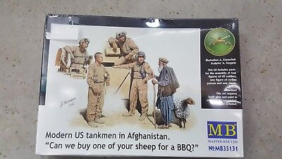 """Master Box #35131 1/35 US tankers in Afghanistan"""" can we buy one of you sheep'"""