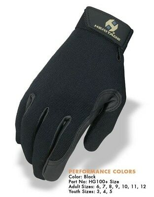 Heritage Gloves  Black