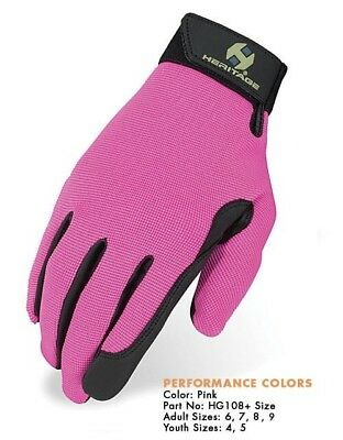 Heritage Gloves  Pink