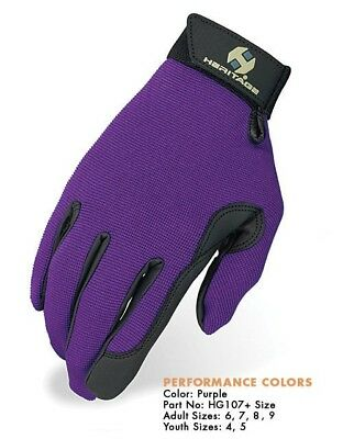 Heritage Gloves  Purple