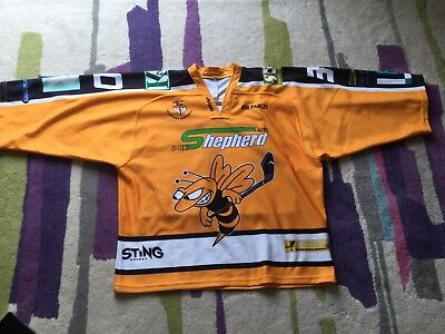 Sutton Sting Ice Hockey Jersey - Used - Size XL (Approx)