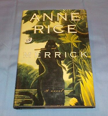 Anne Rice Signed Autographed Book Merrick